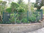 powder coated aluminum garden fencing